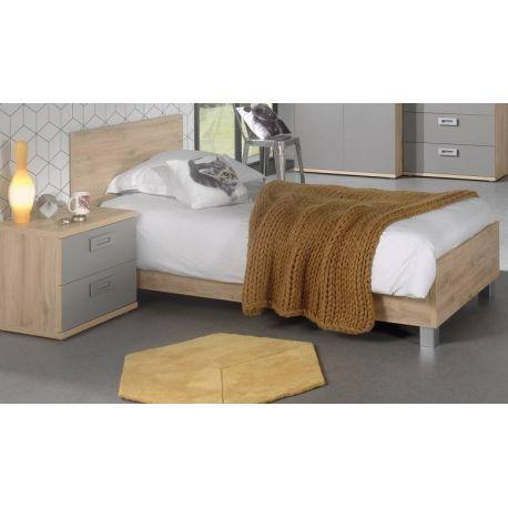 jules lit d une personne 90 cm belga meubelen