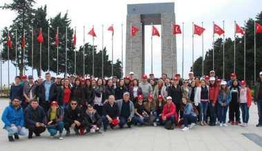 Mestanlılı öğrencilerin Çanakkale ruhu