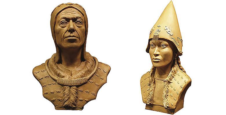 2.600 Yıllık İskit Soylularının Yüzü Canlandırıldı