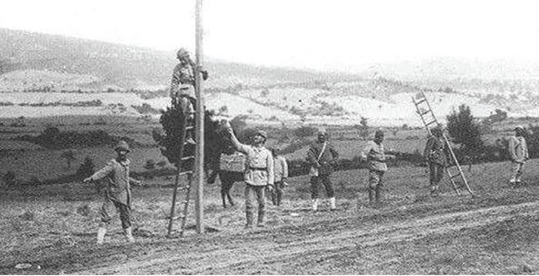 Osmanlılarda ve Cumhuriyetin ilk yıllarında elektrik