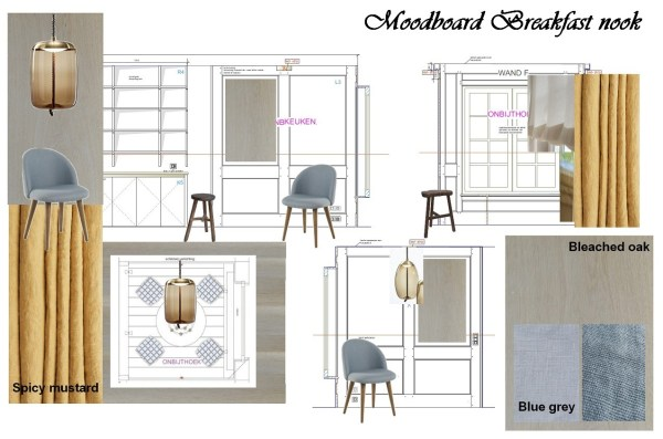Moodboard Breakfast nook