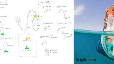 صورة كورونا: تم تحويل قناع الغوص إلى جهاز تنفس في إيطاليا