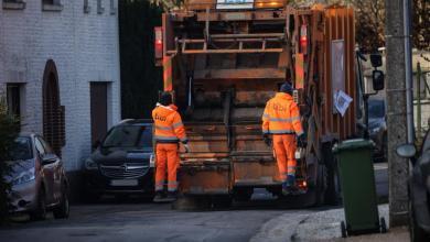 صورة تحديث عن جمع القمامة في جميع بلديات بروكسل