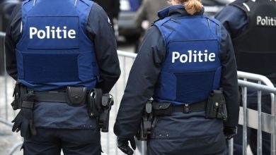 صورة اعتقال قاصرين تتراوح أعمارهم بين 16 و 17 عاما في بلجيكا