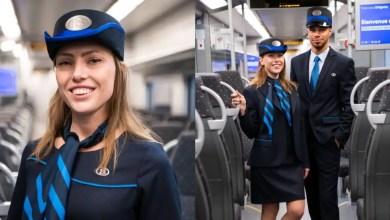 صورة تغيير زي موظفين القطارات البلجيكية