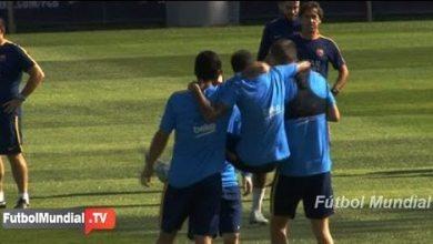 Photo of فيديو: نيمار يخلق المرح في تدريبات برشلونة