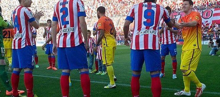 وقت مشاهدة مباراة اتلتيكو مدريد وبرشلونة وقنوات بث مباشر لقمة الدوري الاسباني
