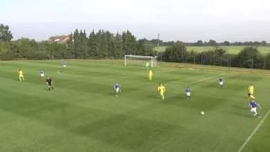 Photo of فيديو: برشلونة الجديد يظهر في الملاعب الانجليزية