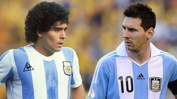 فيديو: مارادونا يقلد ميسي في برنامج تلفزيوني