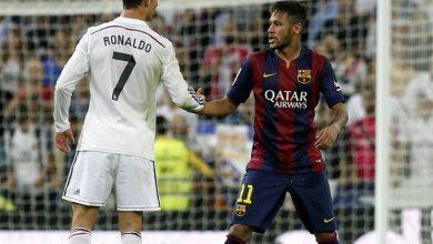 Photo of نيمار: كنت أتمنى رؤية رونالدو بقميص برشلونة