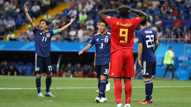 رسميا الفيفا يختار رجل مباراة بلجيكا و اليابان المثيرة بالجول