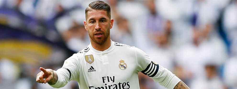 سيرخيو راموس مدافع ريال مدريد