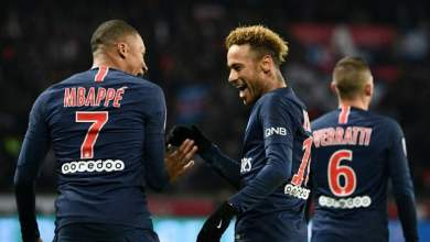Photo of نيمار وإيكاردي على رأس قائمة باريس سان جيرمان في دوري أبطال أوروبا