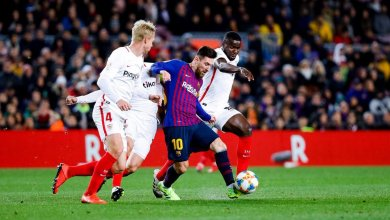 Photo of برشلونة يكتسح إشبيلية بسداسية ويتأهل لنصف نهائي الكأس