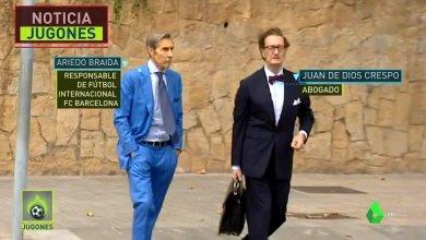 Photo of لحظة وصول محامي نيمار لبرشلونة للتفاوض مع بارتوميو