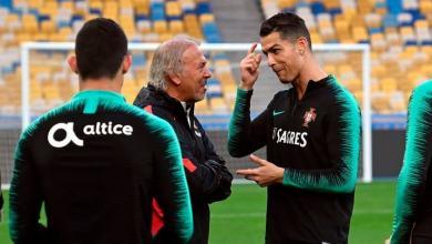 Photo of كريستيانو رونالدو يشارك بشكل طبيعي في تدريبات البرتغال