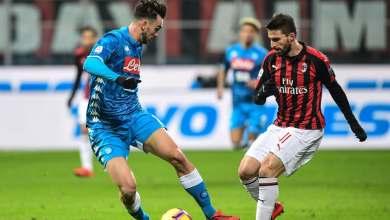 Photo of الدوري الإيطالي   التشكيل الرسمي لموقعة ميلان ونابولي