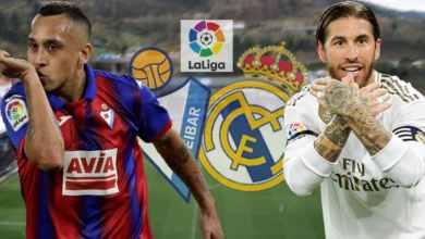 Photo of عاجل.. تشكيلة ريال مدريد الرسمية لموقعة إيبار