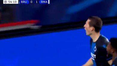Photo of هدف تعادل كلوب بروج أمام ريال مدريد (1-1) دوري ابطال اوروبا