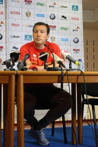 Marc Wilmots - a man who knows what he wants. (copyright John Chapman)