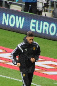 Yannick Ferreira Carrasco is ready. (John Chapman copyright).