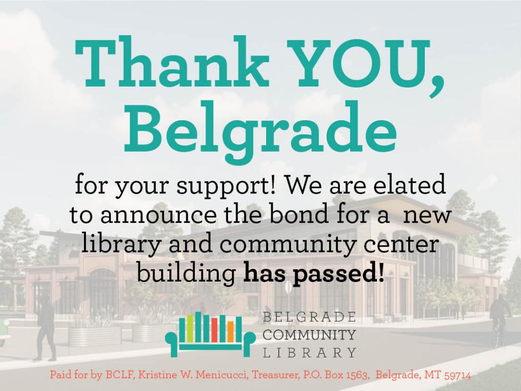 Thank You, Belgrade for your support!