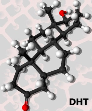 Dihydrostestosterone DHT diagram