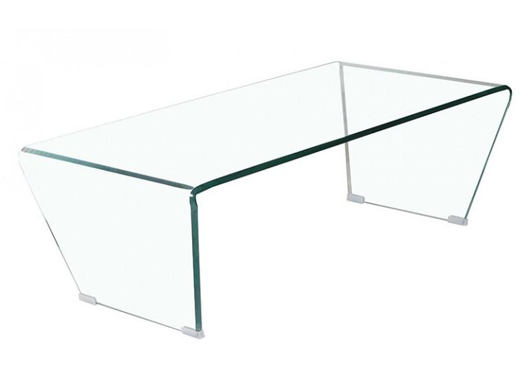 table basse en verre trempe diamond