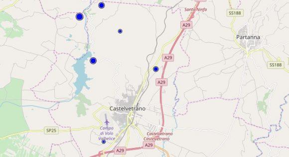 Due lievissime scosse a Castelvetrano, difficili da avvertire