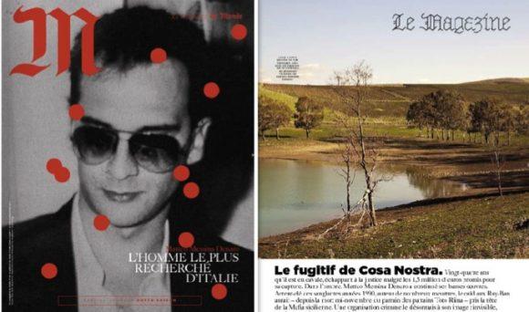 """Matteo Messina Denaro in copertina su """"LE MONDE"""""""