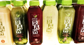 Juice from the Raw Whenever Cleanse