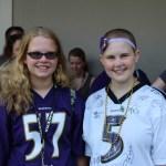 Emily Kolenda at Ravens Trainig Camp