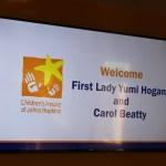 First Lady Yumi Hogan