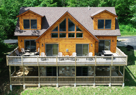 The Believe In Tomorrow House at Deep Creek Lake