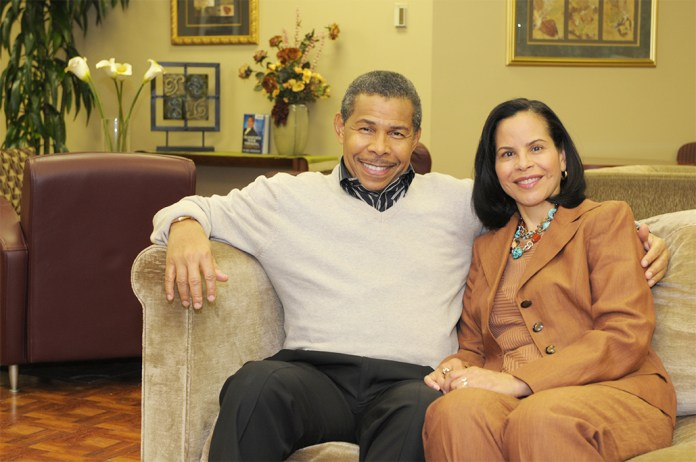 Dr. Bill and Dr. Veronica Winston
