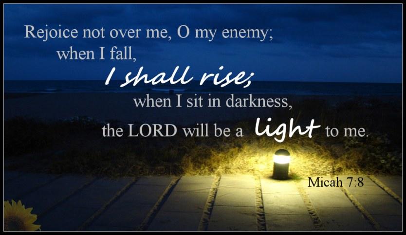 Micah 7 Israel's Misery - Believe Trust