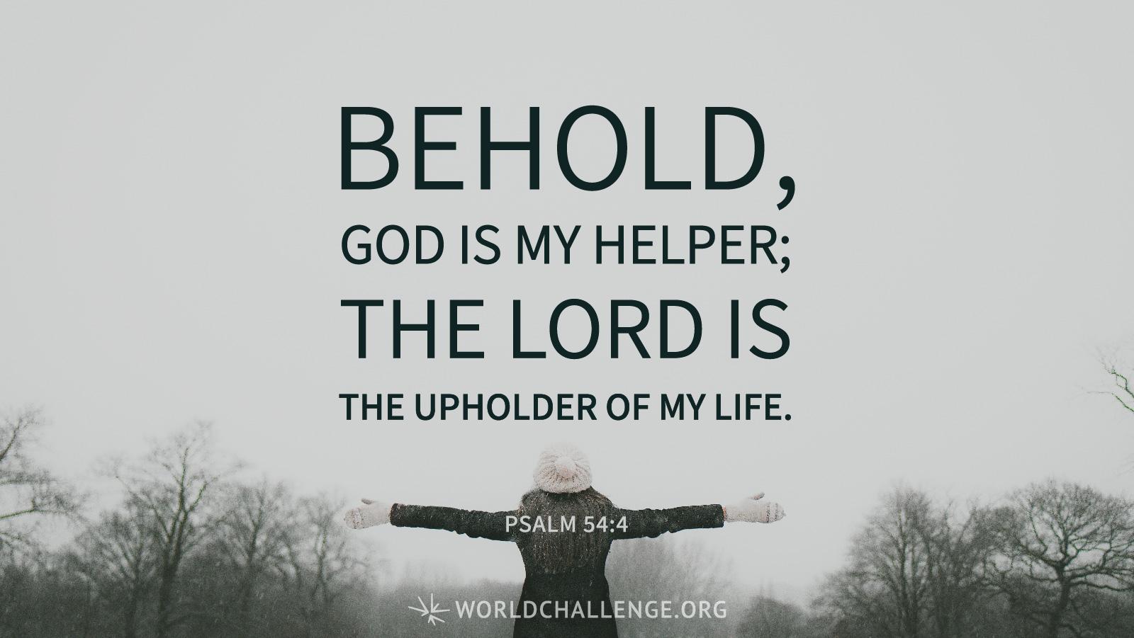 Psalm 54 - Believe Trust
