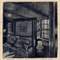 Silk Aquatint: The Captain's Cabin