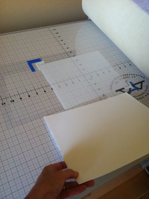 monotype printmaking on a press