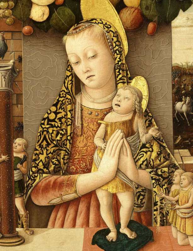 ugly baby example from a painting done around 1460
