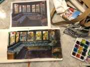 Watercolor Sketching in a Watercolor Pad and Six Tips to Paint More Often