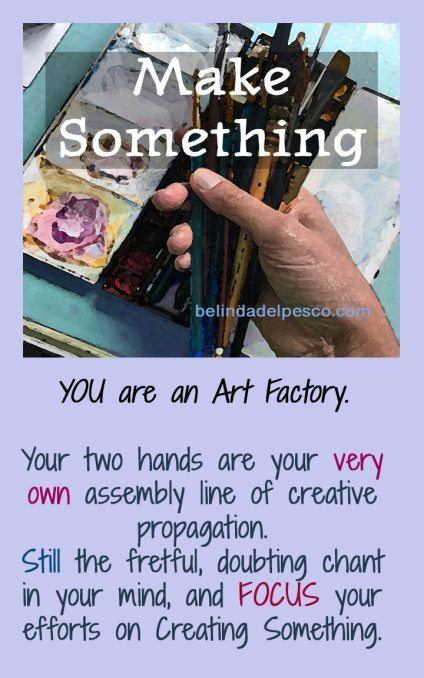 encouragement for artists