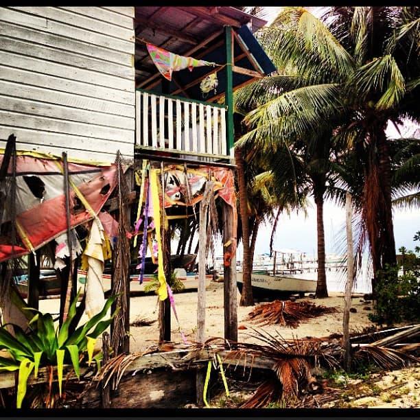 House in Caye Caulker, Belize