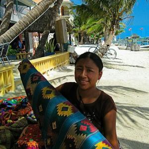 Maya woman in Belize