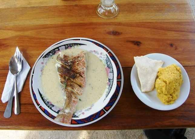 Hudut Garifuna Food