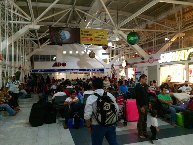 ADO Bus cancun bus terminal