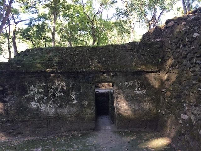 maya temezcal in Cahal Pech Belize