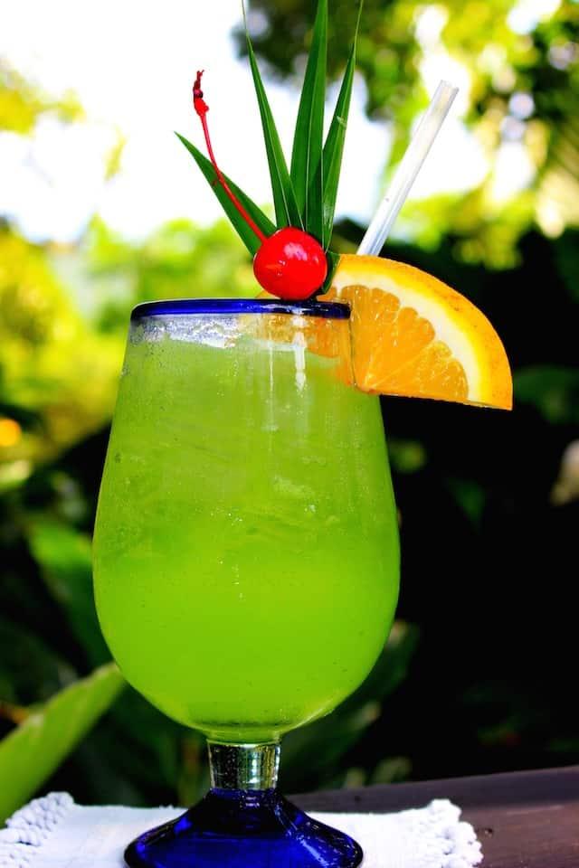 Dragonfly Belizean cocktail