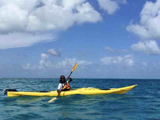 Cedric Casimiro Belize Kayak Tour Guide