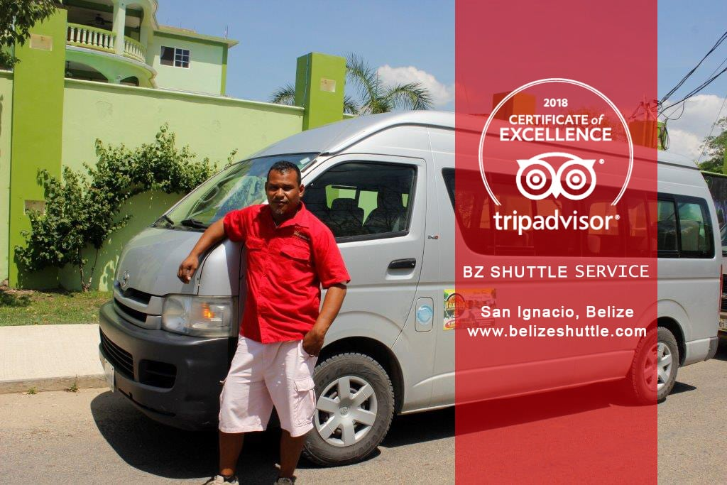 Belize's Top Recommended Shuttle Company